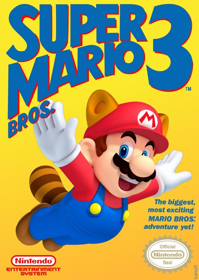 Super Mario Bros 3 Cover By Sakis25 On Deviantart