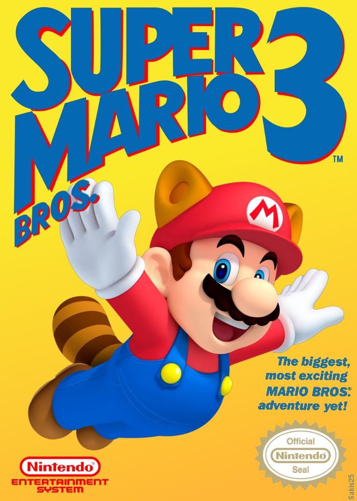 Super Mario Bros 3 Cover