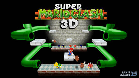 Super Mario Clash 3D Remake