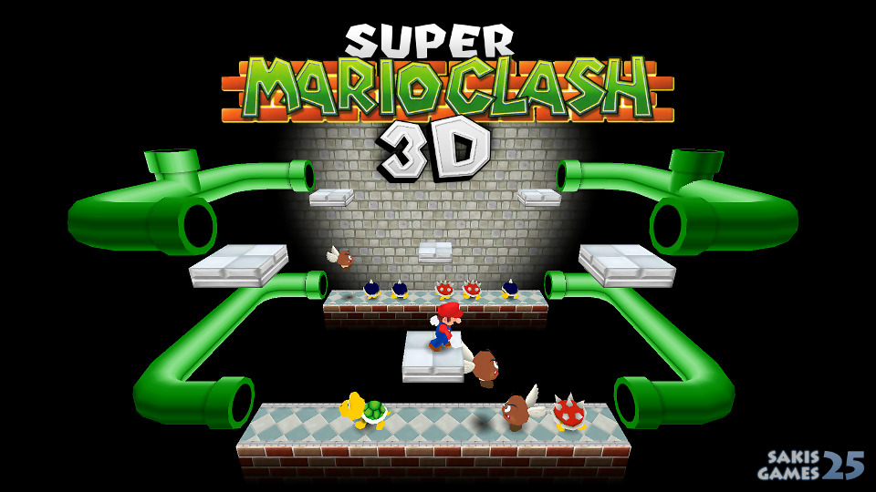 Super Mario Clash 3D Remake by Sakis25