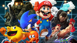 Video Games The Movie Cover Art Wallpaper 1080p