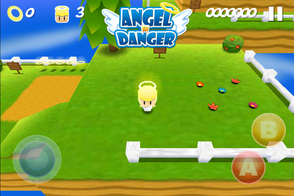 Angel in Danger coming soon on iOS by Sakis25
