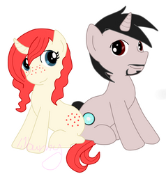 Pony Pepper and Tony by lilbunny