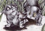 Kittens by Sophillia