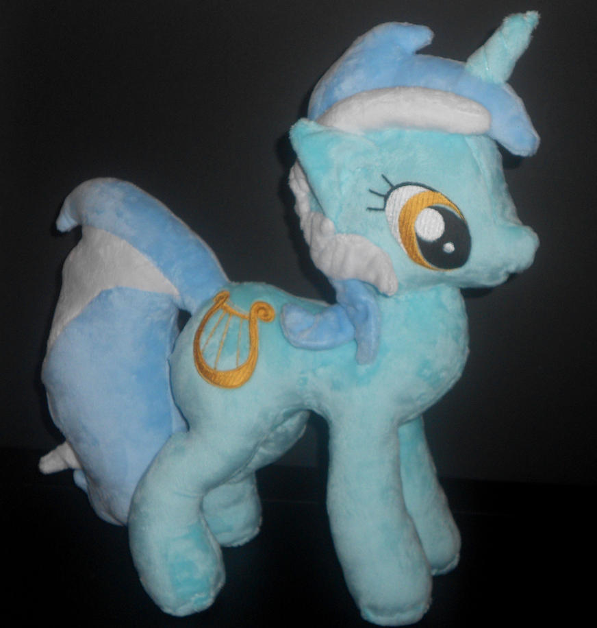 Lyra Custom Plush by Sophillia