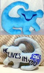 Decorative Simba Pillow