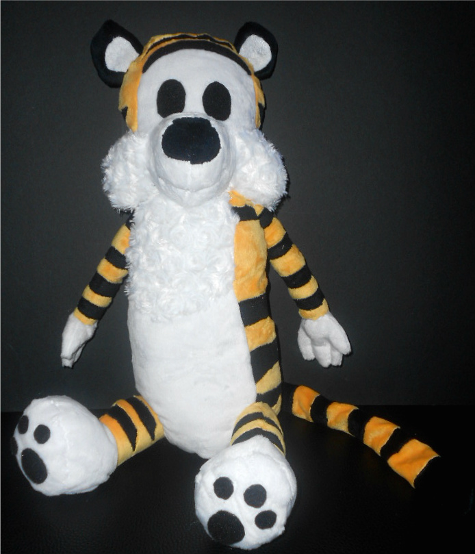 Hobbes the Tiger Plush by Sophillia