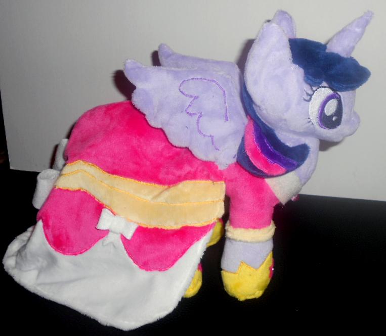 Alicorn Twilight Sparkle Plushie by Sophillia