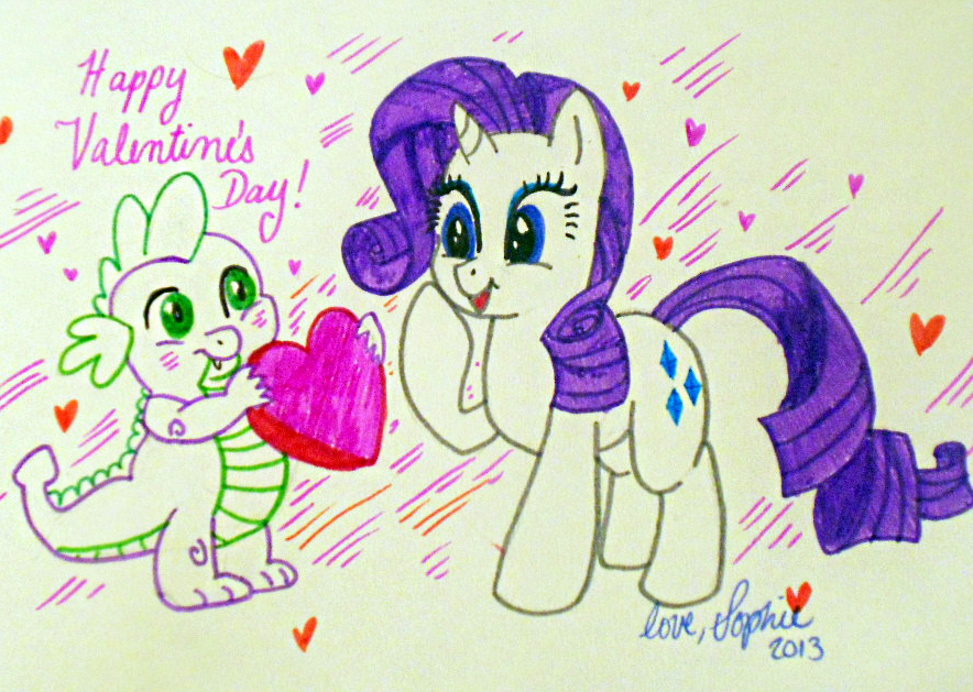 Happy Hearts N Hooves Day! by Sophillia