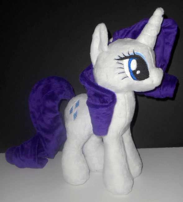 Rarity Plush by Sophillia