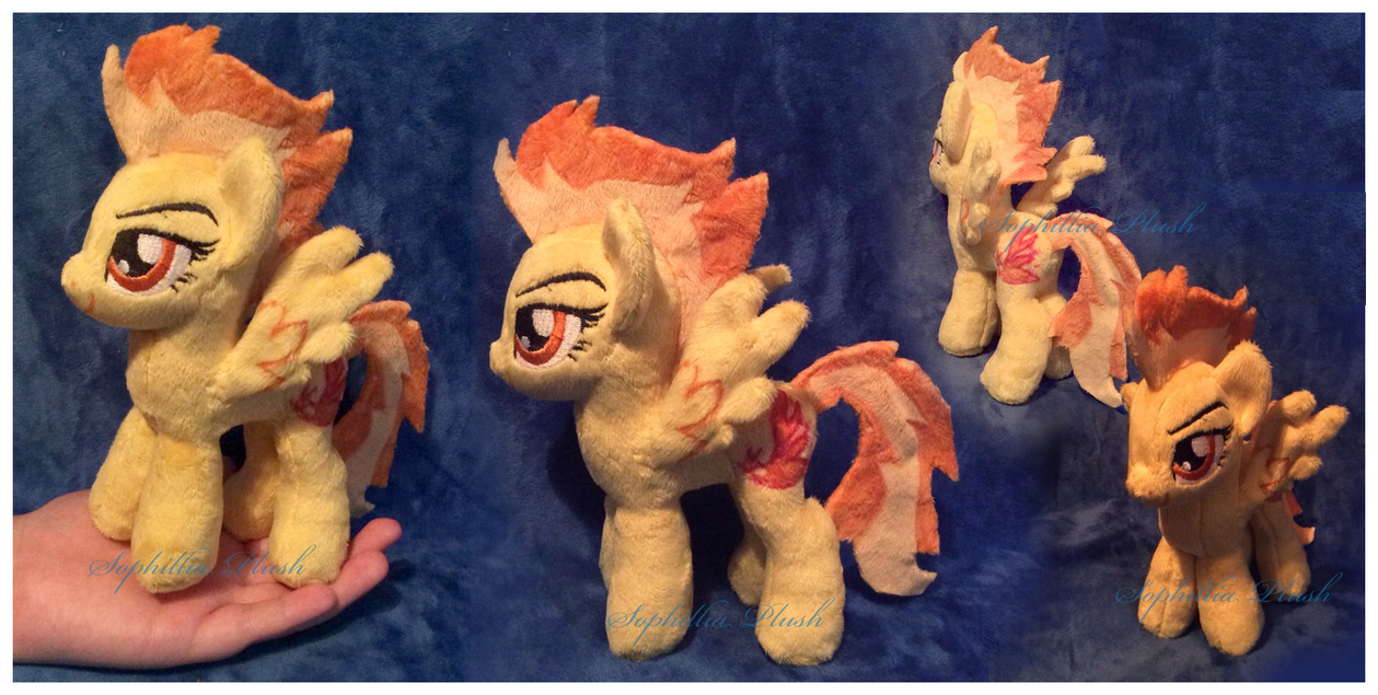 GIVEAWAY: Mini Spitfire Plush by Sophillia