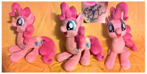 Autographed  Floppy Pinkie Pie
