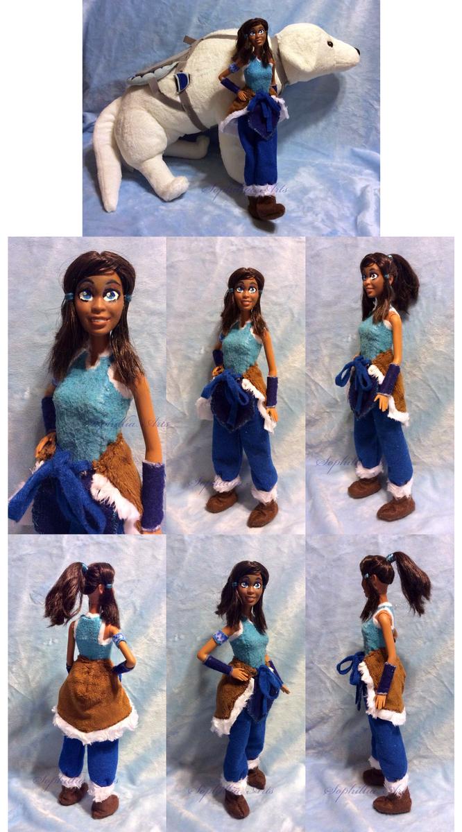 Legend Of Korra Toys : Legend of korra custom doll by sophillia on deviantart