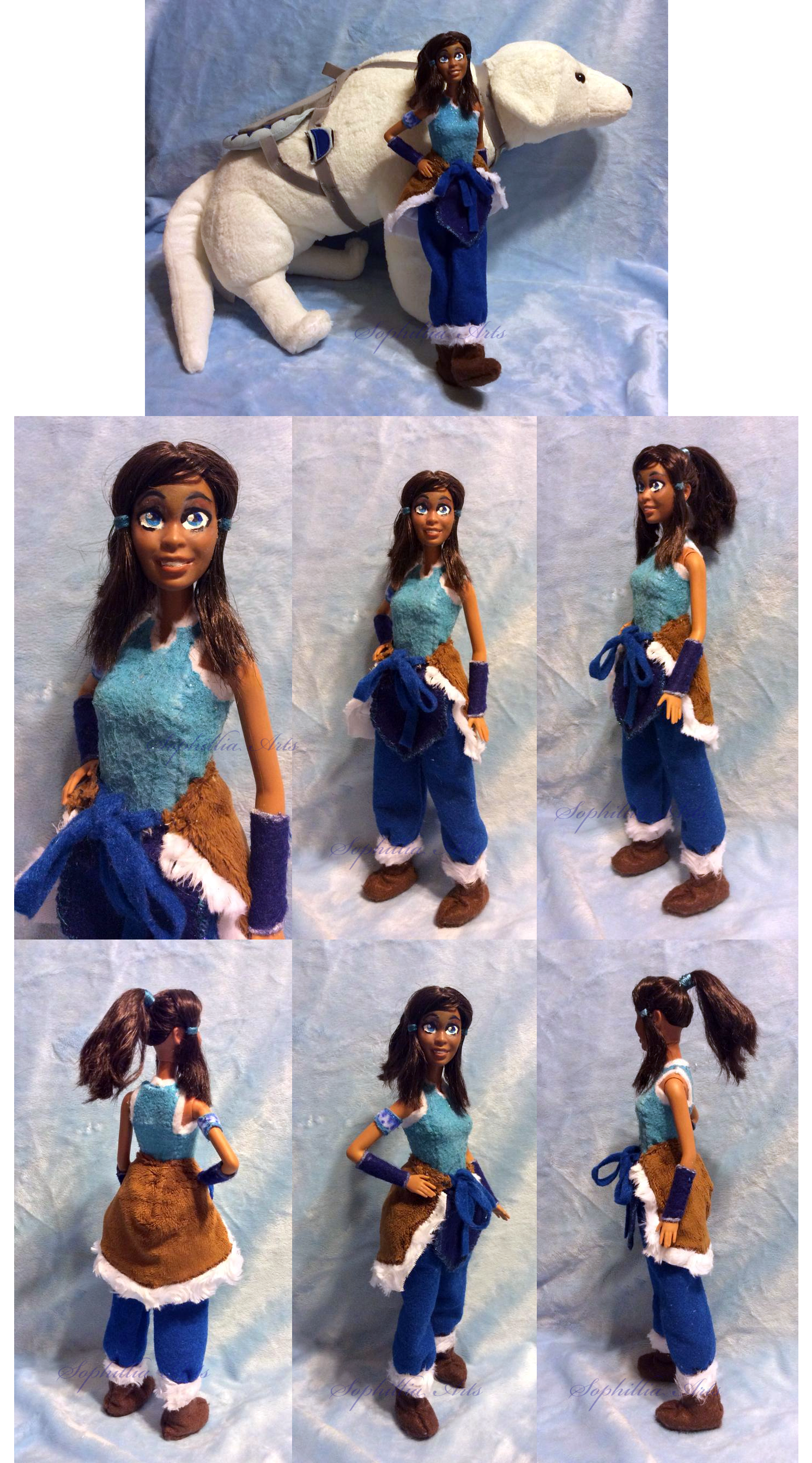 Legend Of Korra Toys : Legend of korra custom doll by sophillia on deviantart