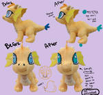 Nugget The Dragon Update by Sophillia
