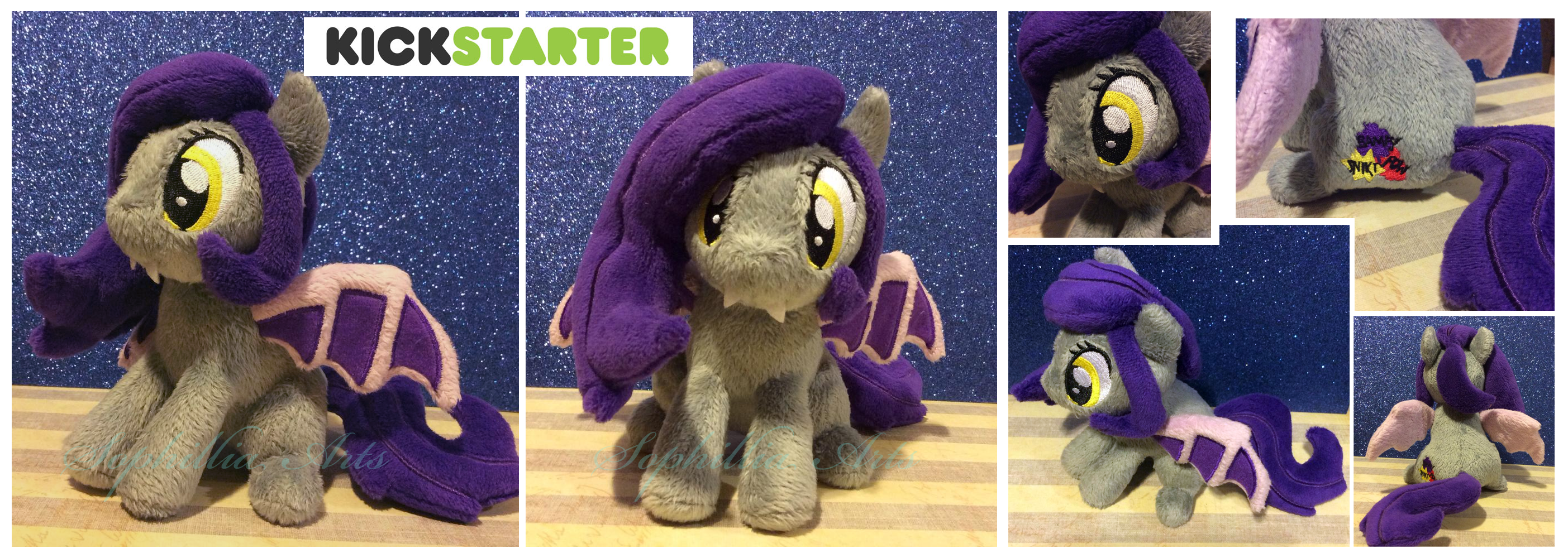 For Sale: Mona Pia Kickstarter Plush by Sophillia