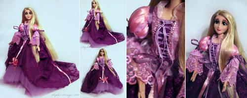 Rapunzel Custom Art Doll by Sophillia