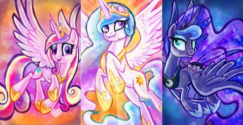 Equestrian Royalty by Sophillia