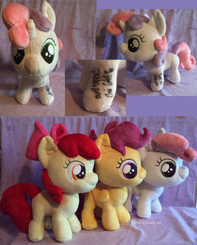 SIGNED Sweetie Belle Plush For Sale