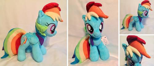 Rainbow Dash Plush by Sophillia