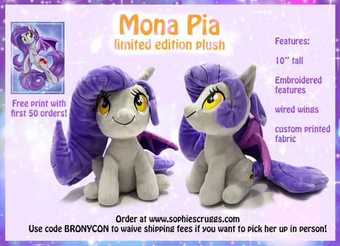 Mona Pia Plush Preorder!