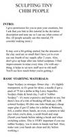 BASIC clay tutorial part1