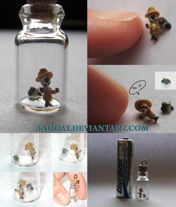 Rawrshack bottle charm by snoday