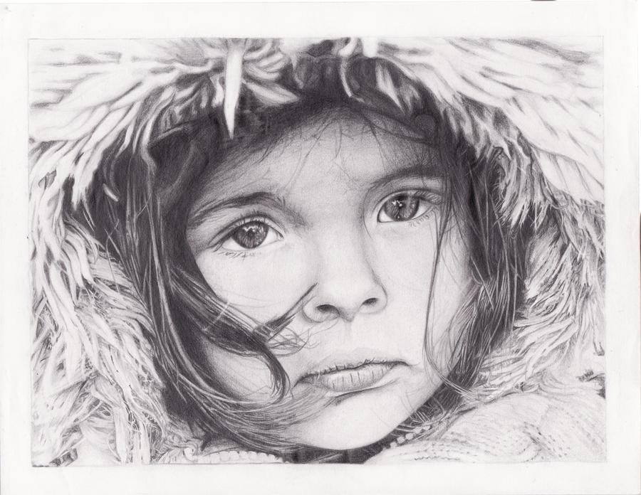 Winter portrait by snoday