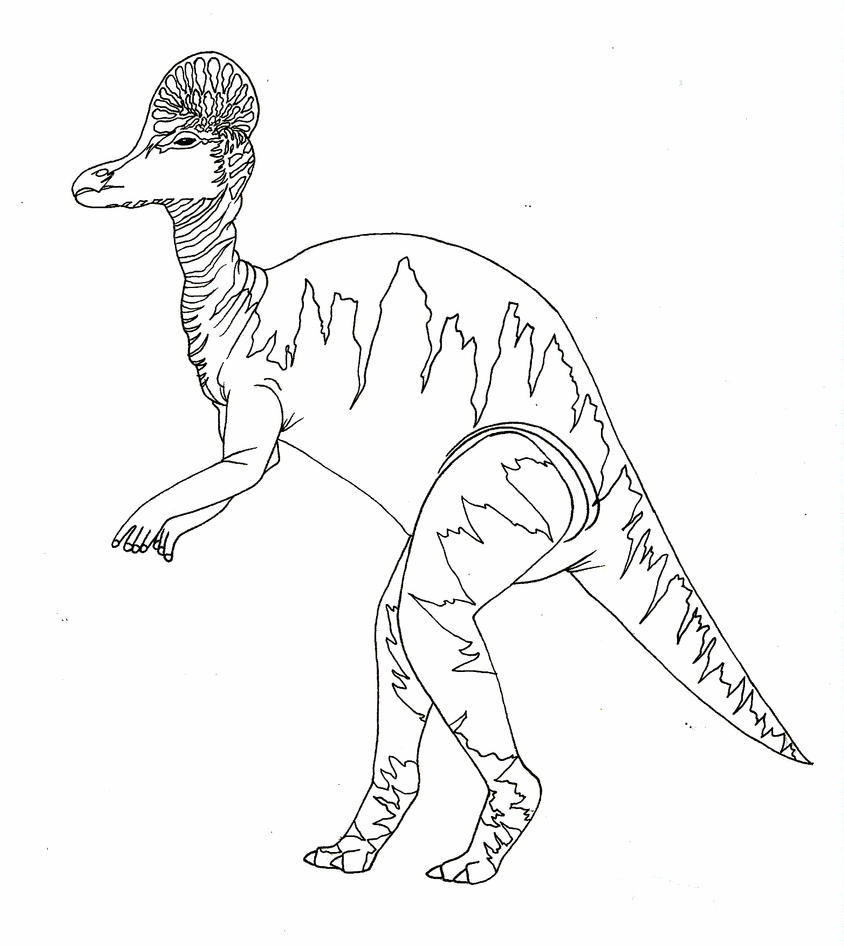 deinonychus coloring pages - photo#10