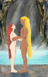 Wenja og Ahravan by Nuredhel