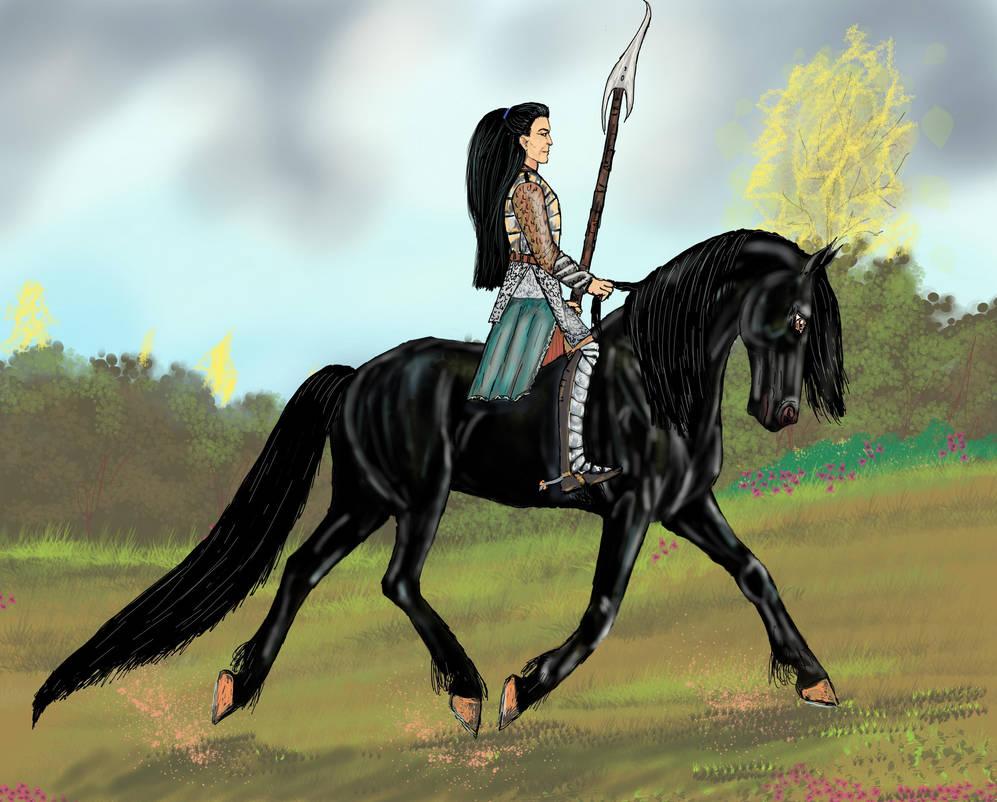 Raigh and Nightblade by Nuredhel