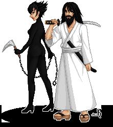 Ashi and Jack by shiicolate