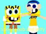 Spongebob and Jeffy