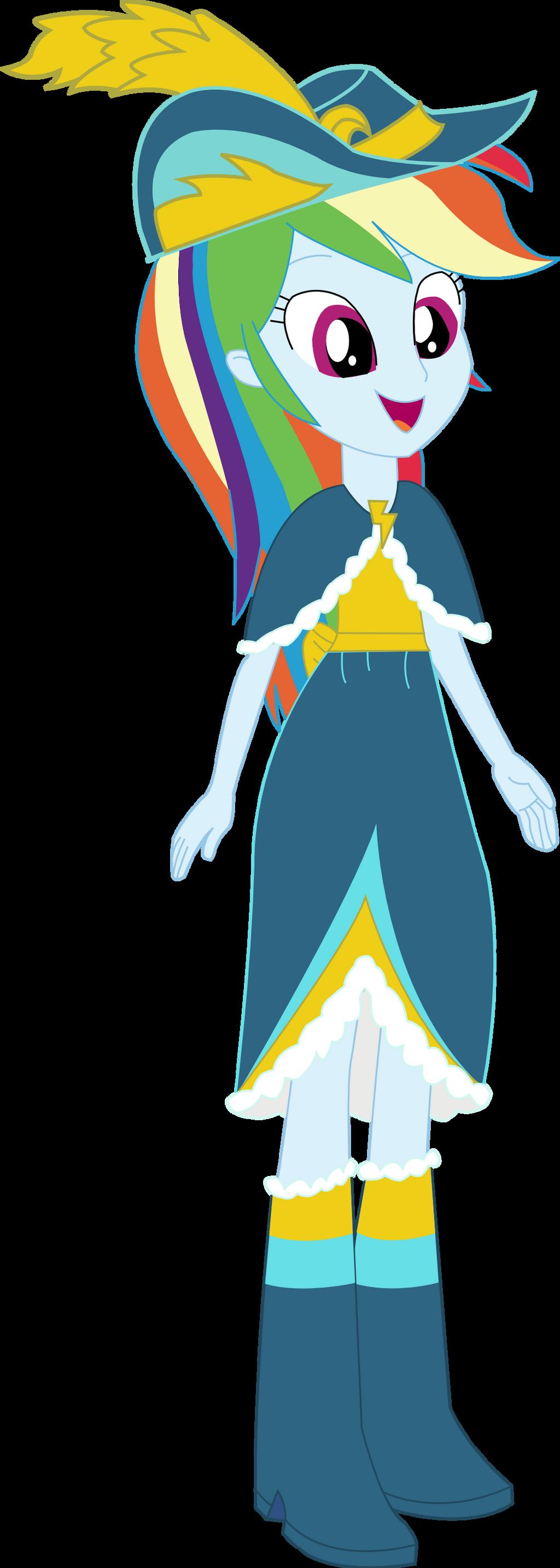 Equestria Girls Rainbow Dash Coronation Dress By Sketchmcreations On Deviantart