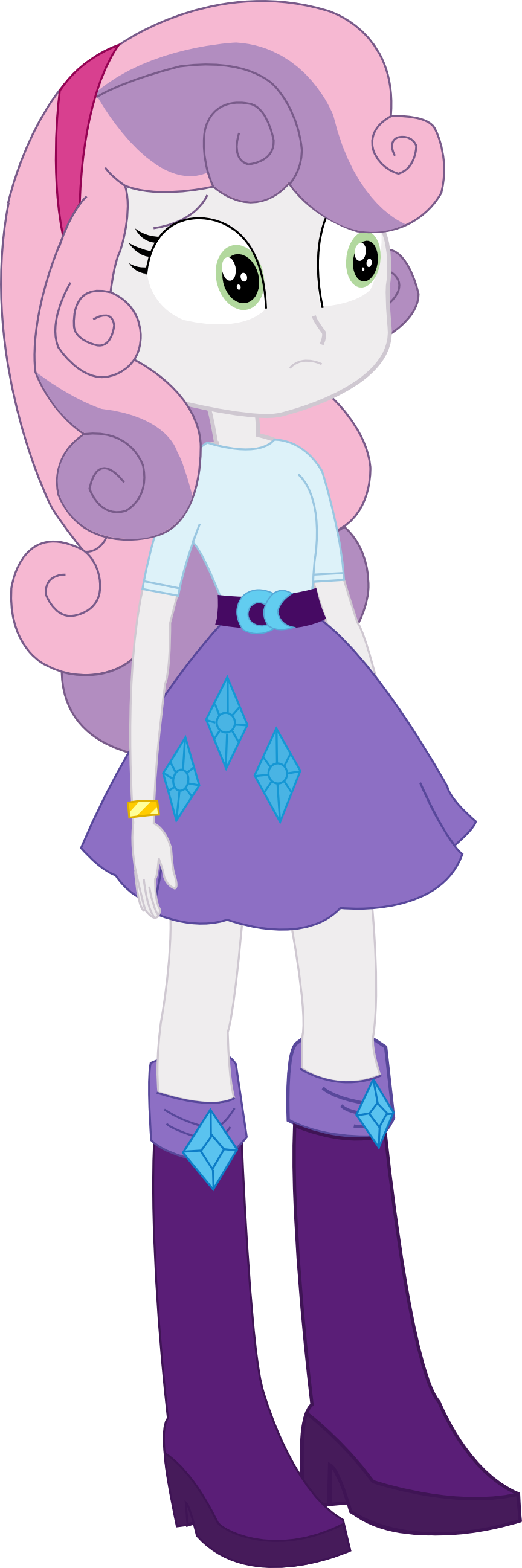 Equestria Girls Sweetie Belle Rarity 39 S Clothes By Sketchmcreations On Deviantart