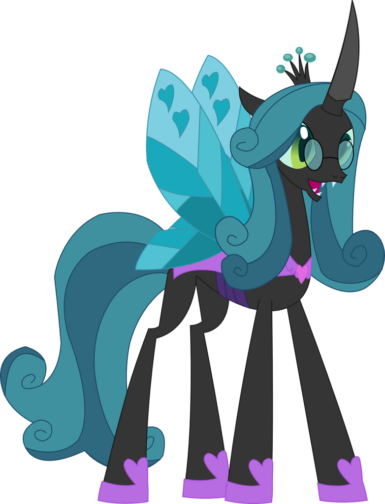 Vector Mirror Queen Chrysalis By Sketchmcreations On