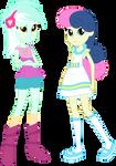 Vector - Lyra and Bon Bon