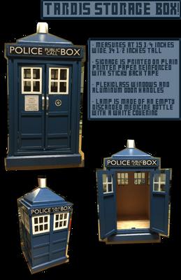 Craft - TARDIS Storage Box!