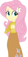 Vector - Casual Fluttershy