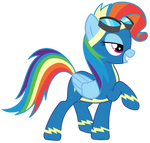 Vector - Rainbow Fash