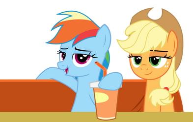 Vector - Pair of Mares by SketchMCreations