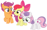 Vector - Silly Rich Ponies...