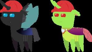 Pointy Pony - Berzie by SketchMCreations