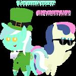Pointy Ponies - Lyrish and Spyrish