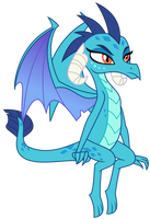 Vector - Sitting Ember by SketchMCreations