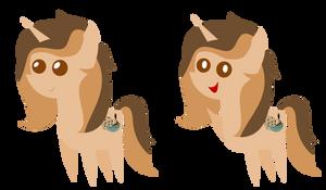 [C] Pointy Pony - Chocolate Swirl