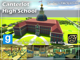 Map - Canterlot High School by SketchMCreations