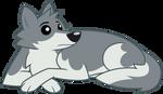 Vector - The Resting Doggo