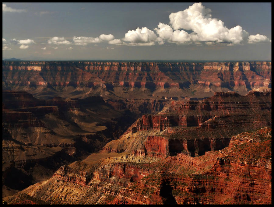 Grand Canyon dimishing view by ariseandrejoice