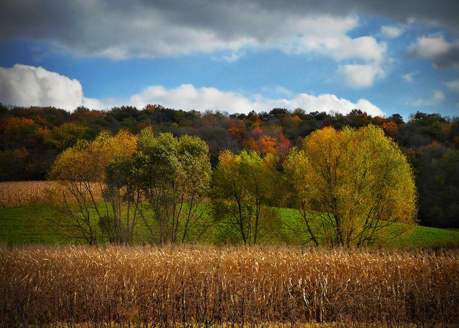 Wisconsin farmland by ariseandrejoice